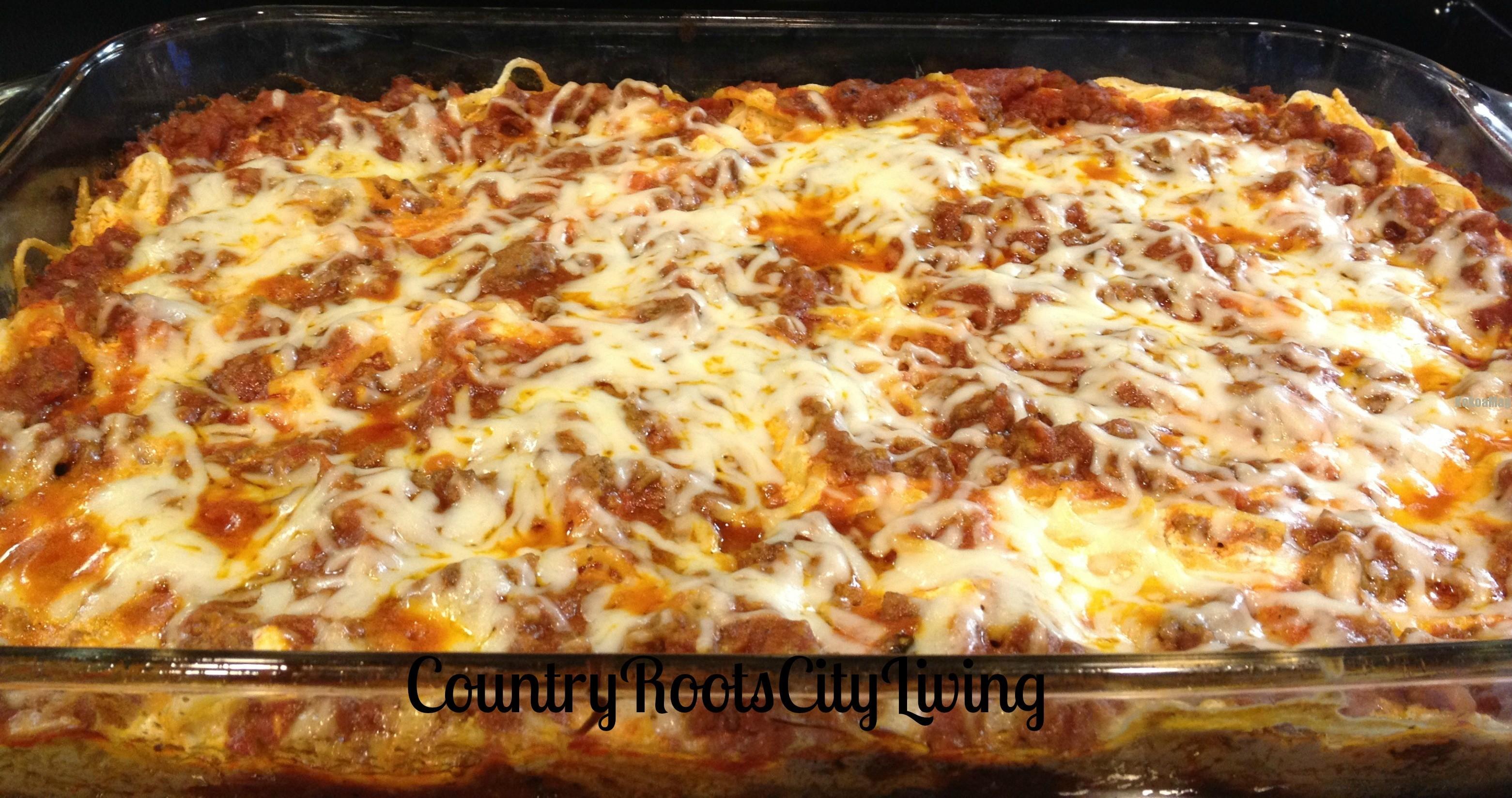Creamy Spaghetti Casserole | KoKoa Magazine