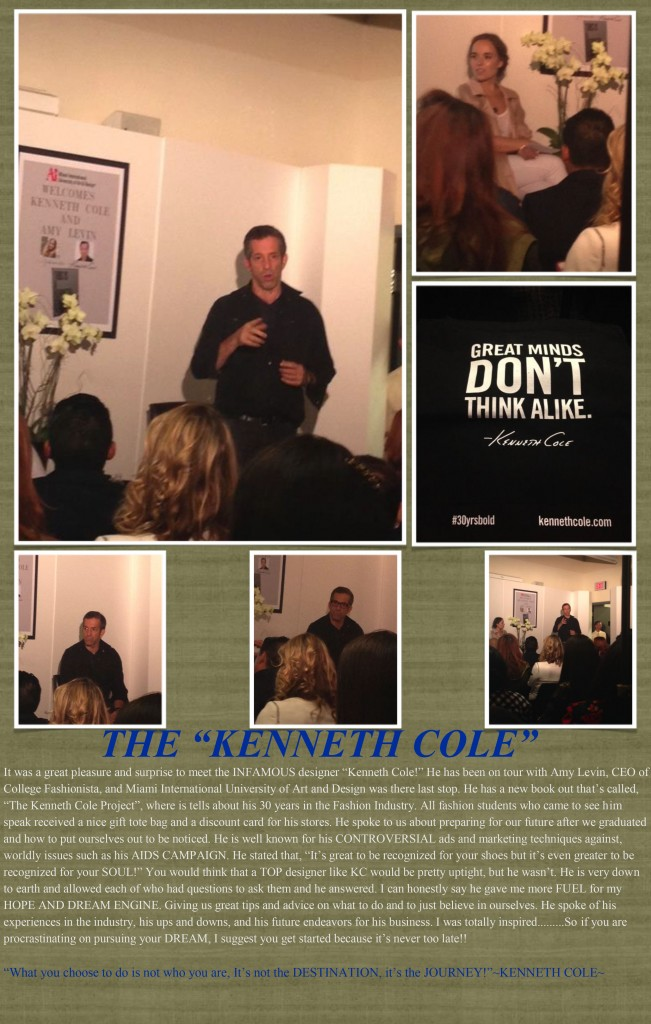 Meeting Kenneth Cole