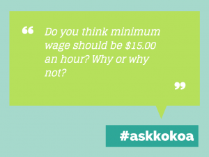 Ask Kokoa: Minimum Wage