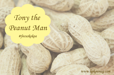 tony the peanut man
