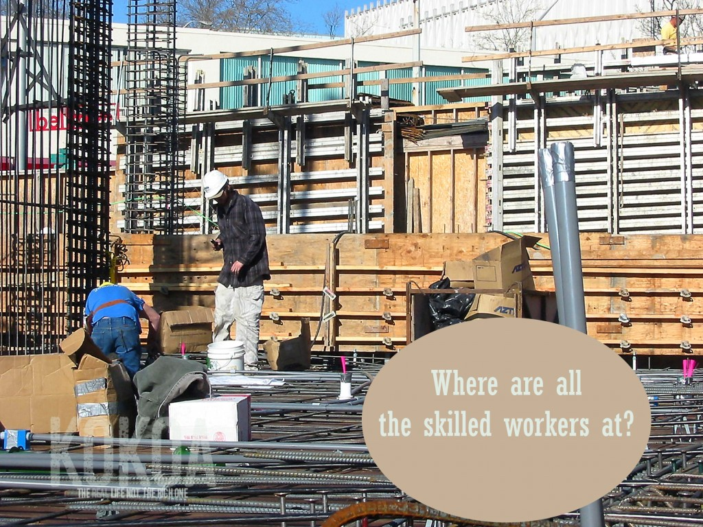 Where are the skilled workers?