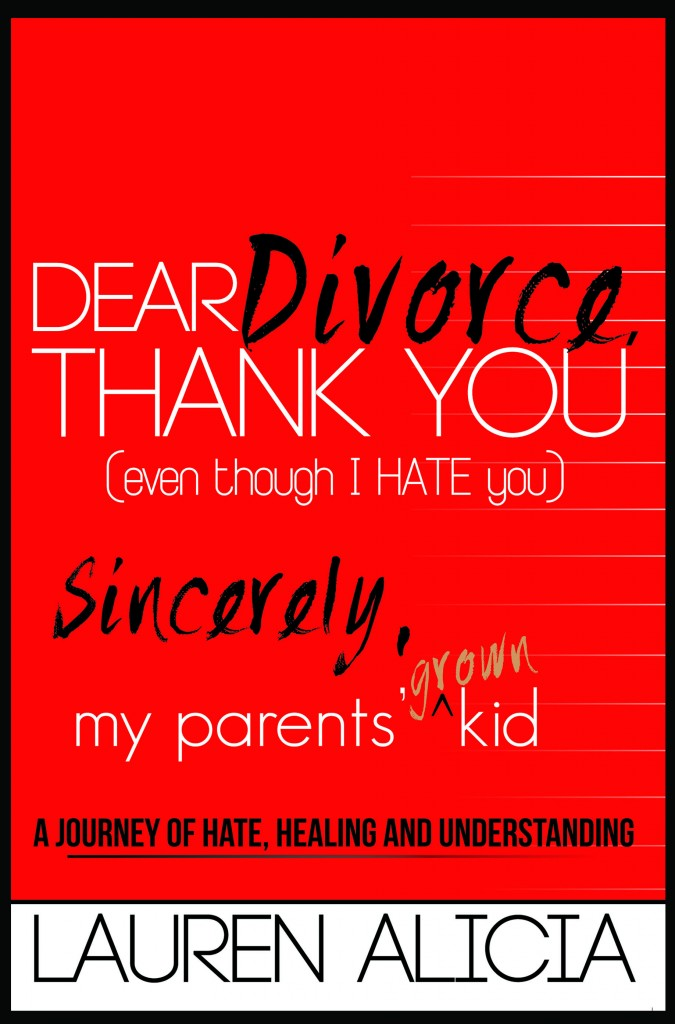 Dear Divorce Thank You