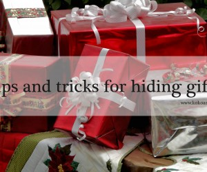 Hiding gifts