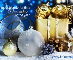 Kokoa magazine Christmas