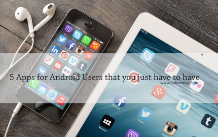 5 apps for android users