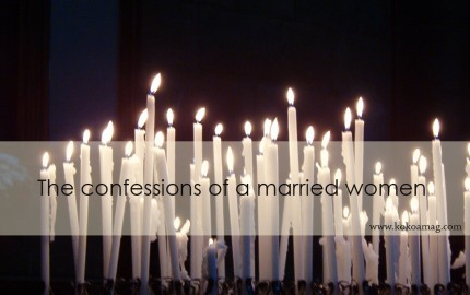 confessions of a married women