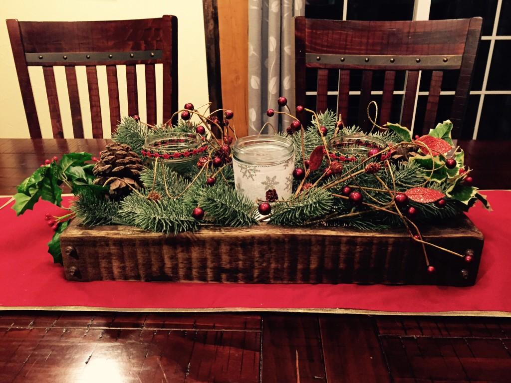 DIY Home Health Christmas decor