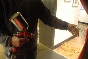 air compressor for DIY paint jobs